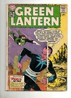Green Lantern #15 SINESTRO COVER & STORY!  VG- 3.5 COMPLETE! 1962 DC