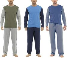 Tom Franks Mens Cotton Jersey Long Pyjamas