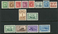 CANADA 1942-43 DEFINITIVES COMPLETE MINT, OG #249-62