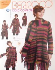 Berroco Cold Comfort Pattern Brochure 237 Booklet Knit Crochet 15 projects 2005