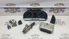 SKODA SUPERB MK1 2.5 TDI BDG AUTOMATIC ECU KIT WITH KEY LOCK SET 8E0907401T