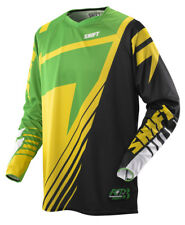 Shift Faction Satellite Green / Yellow Jersey Large Lrg Lg L Motocross MX 2014