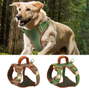 No Pull Harness for Dogs Soft Reflective Padded Large Breeds Walking Vest D-ring