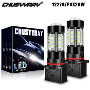 LED Fog Driving Lights Bulbs 6000K for CHEVROLET SUBURBAN 3500 HD 2018-2019