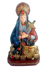 11 Inch Mater Dolorosa Statue Our lady of Seven Sorrows Mary Maria Figurine