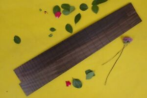 New Rosewood Electric Guitar Fretboard Blank 22 Fret 24.75 inch Luthier Supply