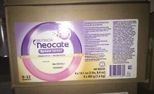 4 cans / 1 case NEOCATE SYNEO Infant powder formula FAST Free Priority Ship