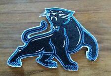 """NFL Carolina Panthers Sew/Iron Patch 3"""" X 4.25"""""""