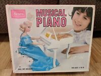 Vintage Sears Musical Piano Toy