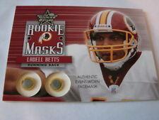 2002 Leaf Rookies & Stars Ladell Betts Masks Card Washington Redskins (B106)