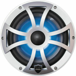 """Wet Sounds REVO 8-XSS Silver XS SERIES Grille 8"""" Speakers (pair) - NEW."""