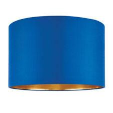 Abat-jours bleues en tissu pour la maison