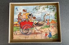 Vintage Victory wooden Jigsaw Puzzle Jemima Puddleduck Beatrix Potter ?