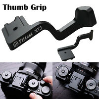 Fittest Thumb Grip Handle CNC Hotshoe for Fujifilm Fuji XT3 X-T3 Camera Black