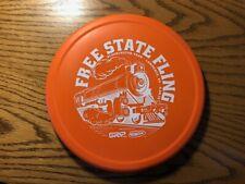 Innova Rhyno Putter Orange 173 Gram Disc Golf Free State Fling Train Logo Grip