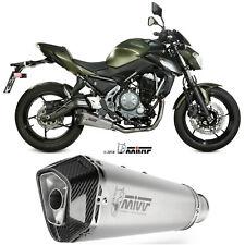 Impianto Completo Mivv Kawasaki Z650 2018 18 Scarico Delta Race Inox Moto