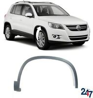 NEW VOLKSWAGEN TIGUAN 2007 - 2016 FRONT WHEEL ARCH MOULDING TRIM COVER RIGHT O/S