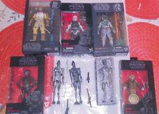 Star Wars Black Series 6 inch Bounty Hunter Lot of 8 Bossk Dengar Boba Fett RARE