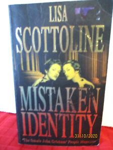 Lisa Scottoline MISTAKEN IDENTITY pb legal thriller (Rosato and Associates #4)