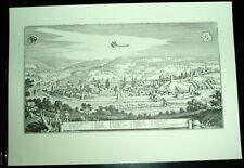 Schwäb. Gmünd: alte Ansicht Merian Druck Stich 1650