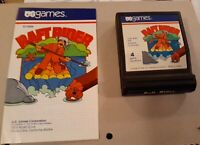 RAFT RIDER CARTRIDGE & MANUAL by US GAMES for ATARI 2600 ▪︎ FREE SHIPPING ▪︎