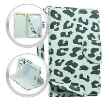 Wallet Pouch Case Phone Cover Accessory for LG Optimus F60 MS395 D390 D392 D390N