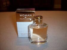 WOMAN by RALPH LAUREN EAU DE PARFUM PERFUME MINI 0.23 oz NIB SPLASH