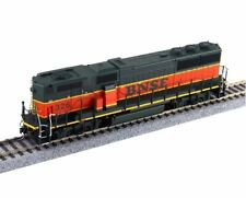 HO BNSF H1 GP60B Locomotive #338 w/ Sound & DCC  - Fox Valley Models #20156-S