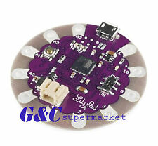 2PCS LilyPad USB ATmega32U4 Board Module replace atmega328p with IDE For Arduino