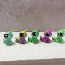 LPS Littlest Pet Shop LOT of 5 Different Mini Baby Caterpillar Inchworm Bugs