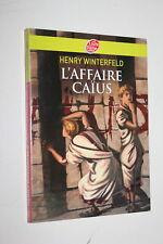 L'affaire Caïus - Henry Winterfeld - Poche jeunesse Historique Collège - NEUF