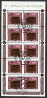 Bund KB 1065 gestempelt ESST Essen Kleinbogen Tag der Briefmarke BRD 1980 used