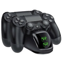 for PS4 Controller Fast Charging Charger Station Stand Dualshock USB Port Base