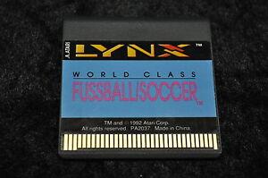 Atari Lynx World class fussball/soccer