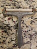 "Vintage Metal Cheese Slicer Cutter Peeler Made In Taiwan 4.25"" FREE SHIP"