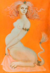 Leonor Fini Nude Figure canvas print giclee 8X12&12X17 art poster reproduction