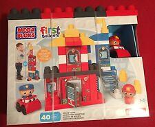 Mega Bloks First Builders Rescue Squad 40 Piece Set - NIB