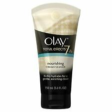 Olay Total Effects Nourishing Cream Facial Cleanser, 5.0 Fluid Ounce each