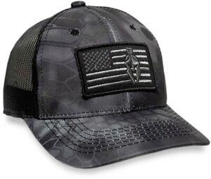 Kryptek® Typhon™/Black Camo Cap