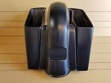 """6""""EXTENDED SADDLEBAG NO CUT OUT/REAR FENDER FOR ALL HD TOURING MODELS 2014-UP"""