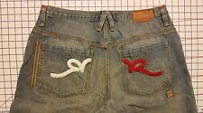 ROCAWEAR RW 40 / 37 x 19 Capri long shorts Jean baggy/loose pants straight