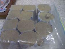 11 Pkgs Lee Wards Rug Yarn 100%  Acrylic Yellow Gold Mustard Shade 3185 Lot 102