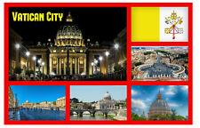 CIUDAD DEL VATICANO,ROMA,ITALIA - RECUERDO ORIGINAL Imán de nevera,MONUMENTOS/