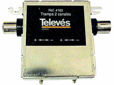 Televes 2 canal IEC Filtro Notch