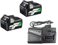 HIKOKI BSL36A18 Multi Volt Battery 2.5ah/5ah (x2) and Charger set