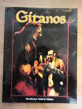 Libro Rol,Gitanos,Guia Mundo Tinieblas,Ed.La Factoria 2000