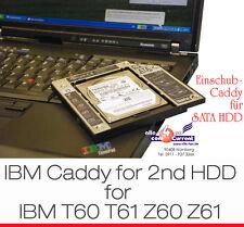WECHSELRAHMEN RAHMEN 2nd FESTPLATTE HDD IBM T60 T61 Z60 Z61 45J7901 45J7902