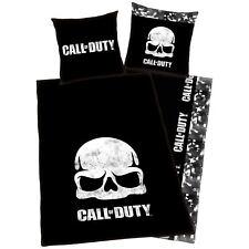 Call Of Duty Black Ops Teschio Copripiumino per Letto Singolo Set Europeo