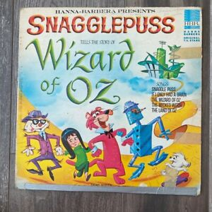 Snagglepuss tells the story of Wizard of Oz Hanna-Barbera Record