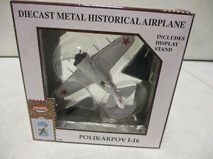 Model Power Postage Stamp Planes Polikarpov I-16 1/100